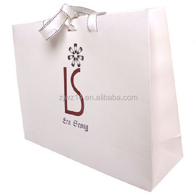 2015 cheap custom kraft euro tote paper bags
