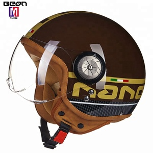 2018 Factory supply high quality  best ABS material fashion cheap open face safety discount motorcycle helmets