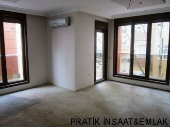 In ZERO building DUPLEX APARTMENT FOR SALE in Erenkoy in istanbul