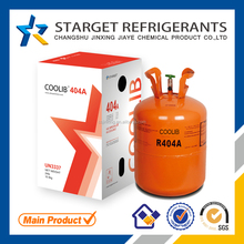 Nice Qurity r404a refrigerant gas price, SGS, DOT,CE cylinder is avaliable