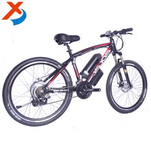 China the most popular hot selling new mode 26'' 36v 350w electric mountain bike, lithium battery e-bike with suspension fork