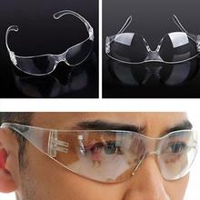 JLB77 Clear Glass Safety Goggles Eye Glasses Dust Safe Work Protect Eyewear Light Wieght High Quality