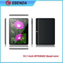 10.1 inch 1280*800 Android 4.4 KITKAT MTK8382 Quad Core Tablet PC 1G RAM 16G ROM GPS, Bluetooth cdma gsm 3g tablet pc