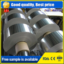 8011 food grade micron gold aluminum foil roll price for food contianer