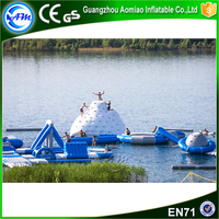 commercial kids water park,inflatable floating island for water game
