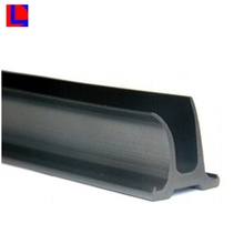 Custom size extruded profile NBR/VITON/Silcone/epdm rubber u channel seal strip