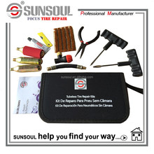 SUNSOUL Emergency Tubeless Tyre Repair Kit tire cartridge CO2