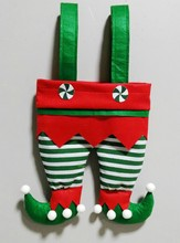 Wholesale Jingle Bell Elf Pants Stocking New Personalized for Christmas