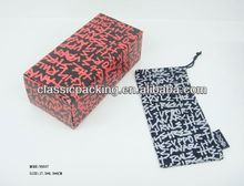 2014 new style paper box with clear plastic cover paper box with clear plastic cover,printing gift box