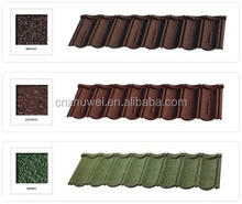 Outstanding Durability Colored Sand Aluminum Zinc Plate metal roofing material prices