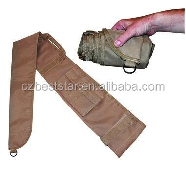 solid color fortable and portable roll up gun cover