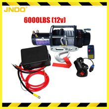 Dependable 12V 6000lb Off-road electric winch