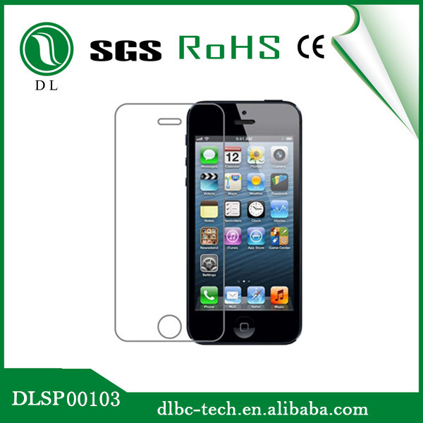 made in china HD tempered-glass screen film for Iphone5
