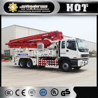 China top XCMG machinery HB37A 37m small concrete pump pipe