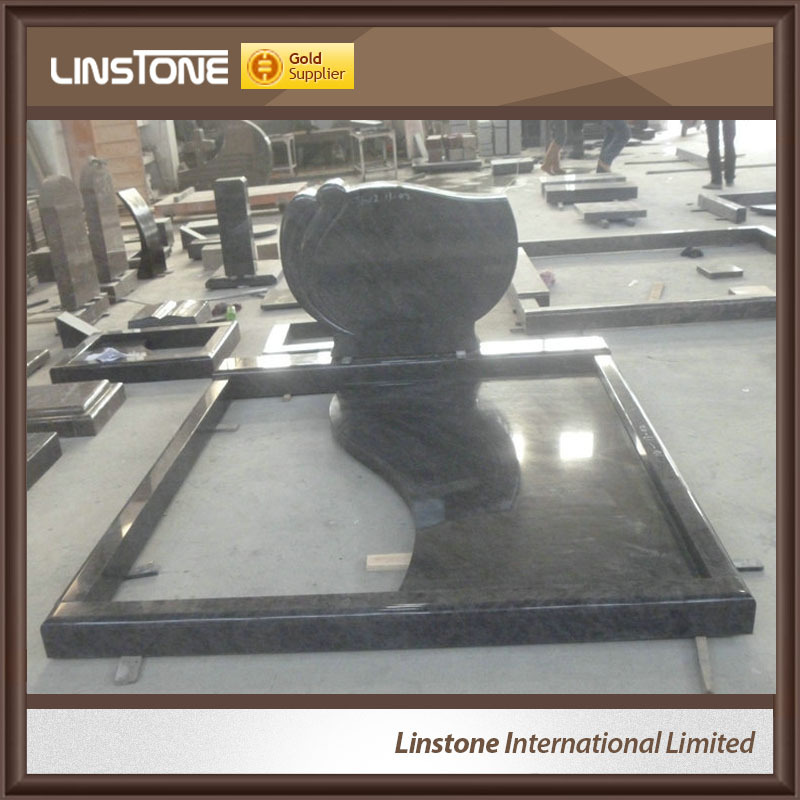 Chinese Black Granite Monuments, Tombstone