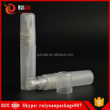 Plastic perfume bottle manufacturers 5ml 10ml 8ml 15ml spray perfume bottle cap