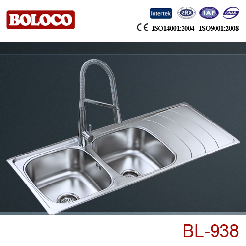 DM 11650 used commercial stainless steel sinks BL-938