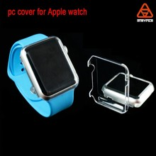 Biaoxin factory watch accessoires For Apple Watch Case [38mm&42mm] simple pc clear Cover, anti scratch soft case for Iwathc case