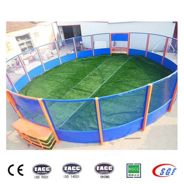 Top quality customized steel football soccer cage for sale