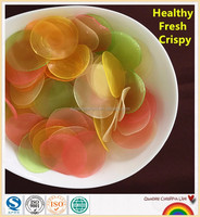 Colored Prawn Crackers Prawn Chips Manufacturer provide longhaisheng Brand Prawn Crackers Healthy Snack food