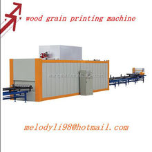 Wood Grain Printing Machine for Aluminum