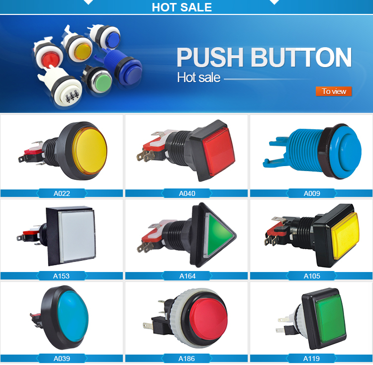 Hot sell led light illuminated small pushbutton switch