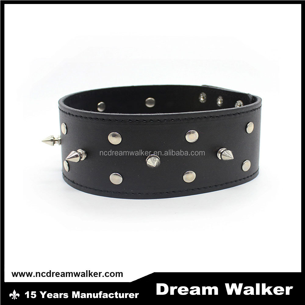 New Arrival!Harness Bondage Tied Sex Collars Neck Cuff Leather Adult Collar For Women