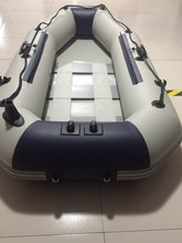 ultra thick pvc inflatable fishing boat