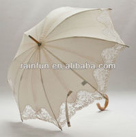 Japanese style long stick umbrella printed ladies love umbrella