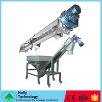 direct manufacturer shaftless screw conveyor for sludge