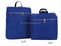 Backpack for 13.3 inch and 10.2 inch laptop with compound cloth material