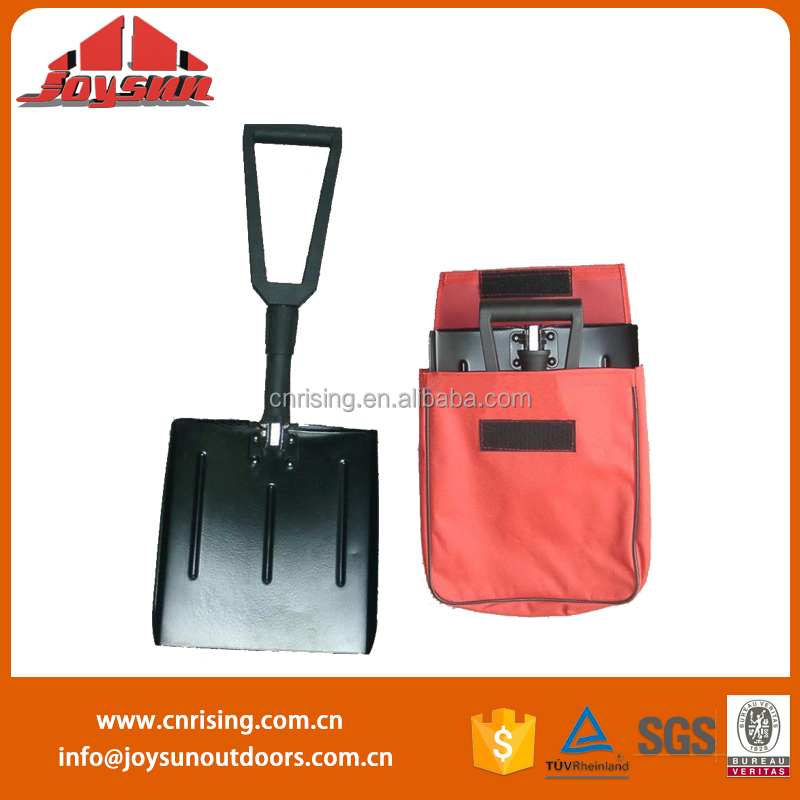 camping equipment(snow shovel ) new design light weight collapsible shovel aluminum snow