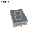 Factory Top quality 1digit 0.80inch common anode pure green color LED seven segment display
