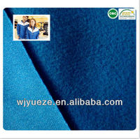 100 polyester micro fleece/ brushed fabric for garments