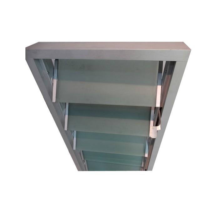 Latest Designs Huiwanjia Oem Louvered Glass Window