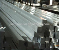 Prime quality AISI 304 321 410 316L stainless steel square solid bar polished bright surface professional manufacturer