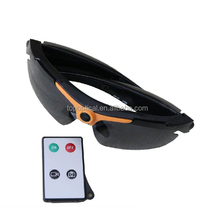 720p Sunglasses type HD micro pinhole video camera glasses