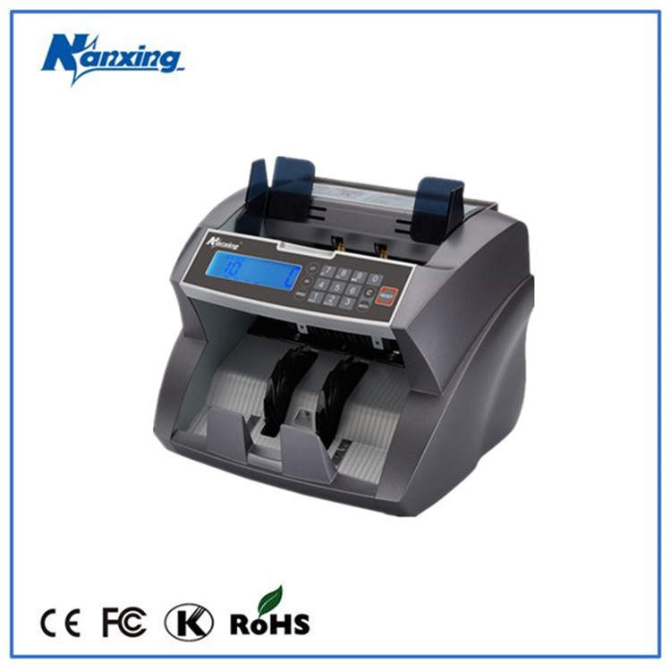 Counterfeit Fake Money Currency Note Bill Cash Banknote Counter Detector Counting Machine with UV,MG,IR detection