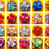 PVC Shoe Stone Crystal Charms Acrylic