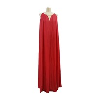 Summer New Design Elegant Red Dyed Fashion Dress
