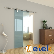 European style entry doors stainless steel glass sliding barn door hardware