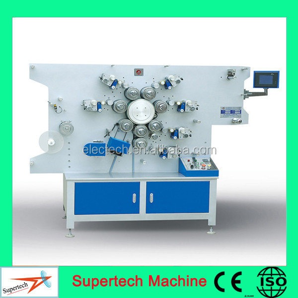 Numerical Control High Speed Rotary Satin Label Printing Machine