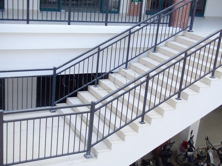stair railing handrail manufacturer supply the outdoor wrought iron