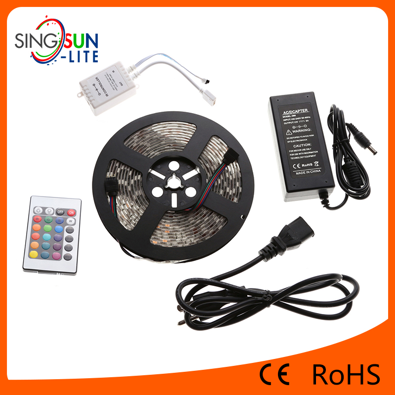 High CRI 300 LEDs LED Strip RGB 5050,Factory Price LED Strip RGB 5050,RGB LED Strip 5050 Waterproof 2700K