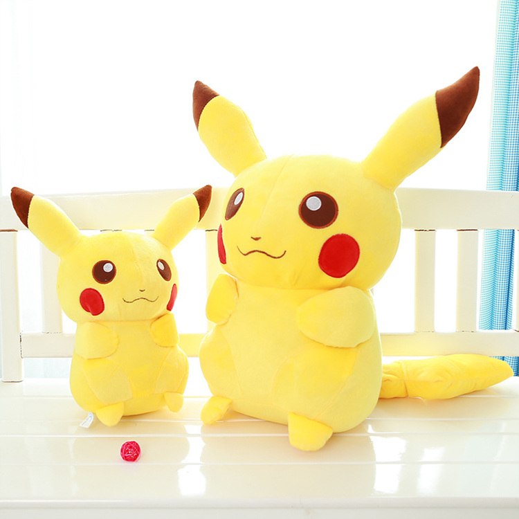Cheap Pokemon Plush toy, custom pikachu plush toy for kids