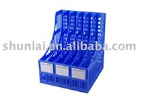 Plastic office file cubbyhole/ plastic office File basket/Charming plastic file holder.
