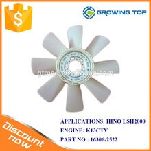 Truck Parts OEM 16306-2522 Radiator Fan Blade for HINO