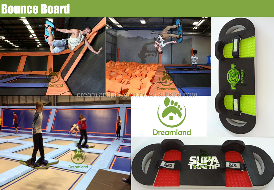 Catch air customized indoor trampoline bounce board