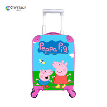 Multifunction kids rolling luggage case trolley suitcase kids luggage/Custom cute kid suitcase