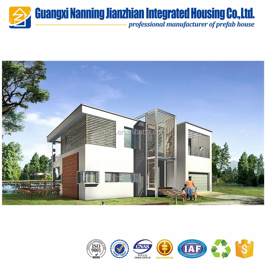 container house prefabricated luxury prefab villa